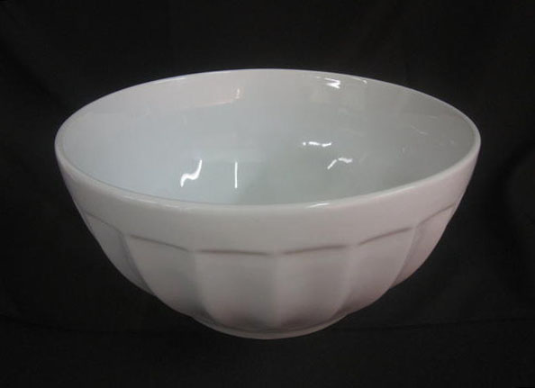 Porcelain Bowl, Round With Desin