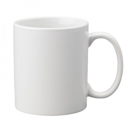 White Coffee Mug
