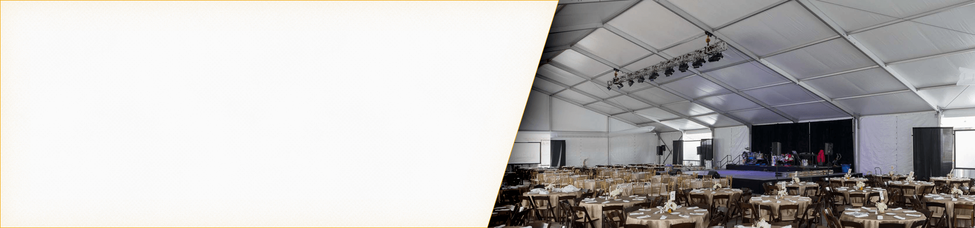 Losberger Clear Span Tent Rentals