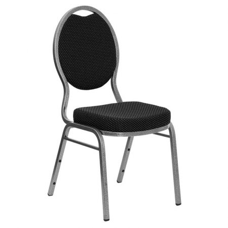 Black Padded Conference Chair