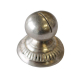Silverplated Ball Table Card Holder Fluted